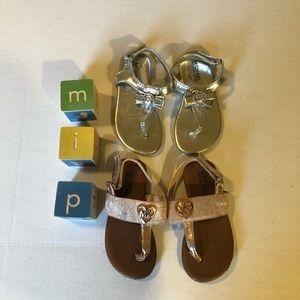 MICHAEL Michael Kors Toddler Sandals Size 8